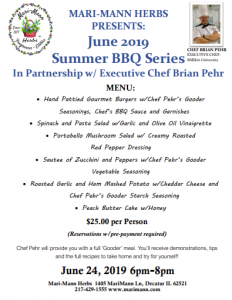 Gooder Cooking Show with Chef Brian Pehr BBQ Series/Burgers