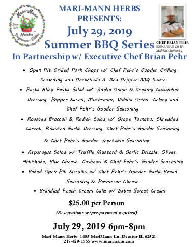 Gooder Cooking Show with Chef Brian Pehr BBQ Series/Pork Chops