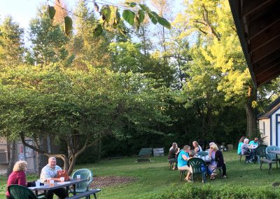 Sept 16 2019 Guests enjoying a Gooder Meal